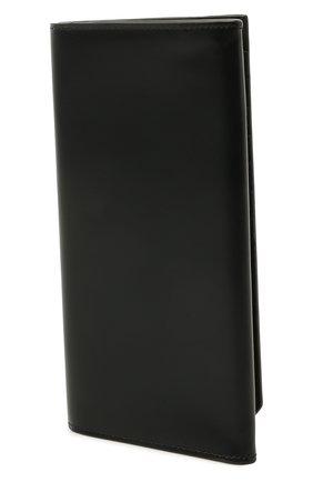 Мужской кожаное портмоне SANTONI черного цвета, арт. UFPPA2121F0-GRT0N01 | Фото 2