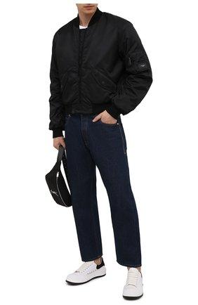 Мужской утепленный бомбер DOLCE & GABBANA черного цвета, арт. G9VD3T/FUMNQ | Фото 2
