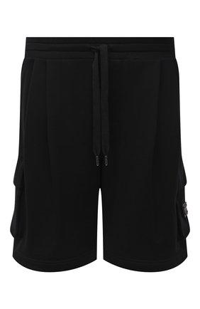 Мужские хлопковые шорты DOLCE & GABBANA черного цвета, арт. GYSJAT/FU7DU | Фото 1