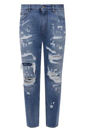 Мужские джинсы DOLCE & GABBANA голубого цвета, арт. GWSVAD/G8EF2 | Фото 1