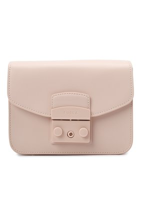 Женская сумка metropolis mini FURLA светло-розового цвета, арт. BATLEP0/VNC000   Фото 1