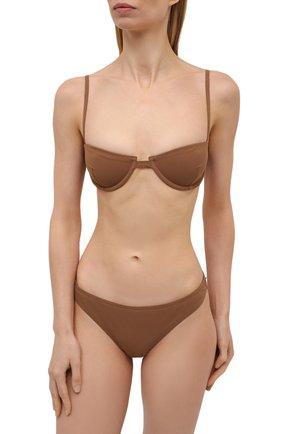 Женский плавки-бикини TOTÊME светло-коричневого цвета, арт. 213-885-795 | Фото 2