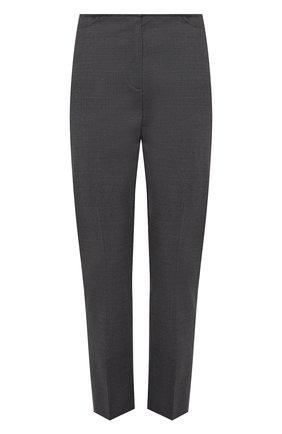 Женские шерстяные брюки TOTÊME серого цвета, арт. 213-218-702 | Фото 1