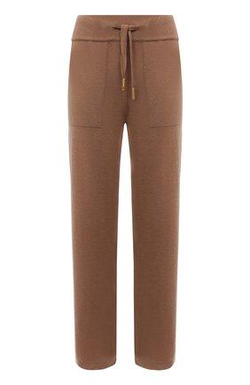 Женские кашемировые брюки LORENA ANTONIAZZI бежевого цвета, арт. A21108PM002/1175 | Фото 1