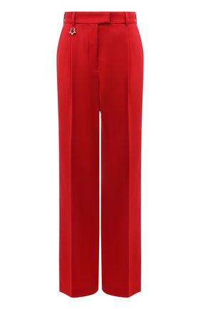 Женские шерстяные брюки LORENA ANTONIAZZI красного цвета, арт. A2125PA30A/3607 | Фото 1