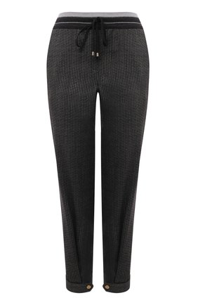 Женские шерстяные брюки LORENA ANTONIAZZI темно-серого цвета, арт. A2136PA47A/3560 | Фото 1