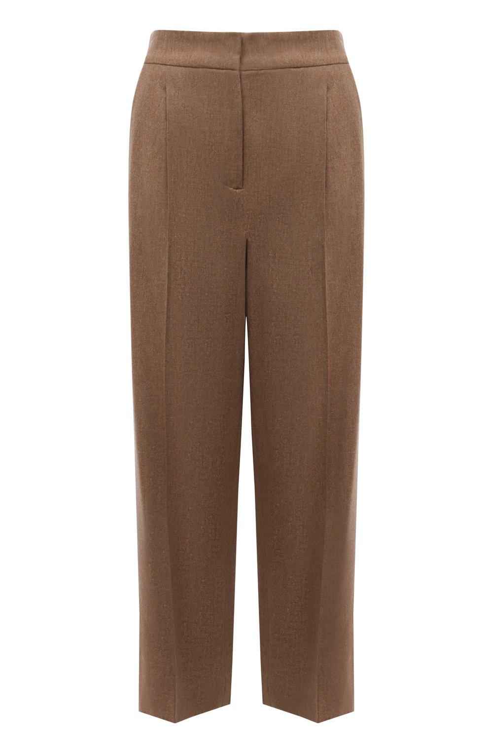 Женские шерстяные брюки LORENA ANTONIAZZI бежевого цвета, арт. A2139PA29A/3273 | Фото 1