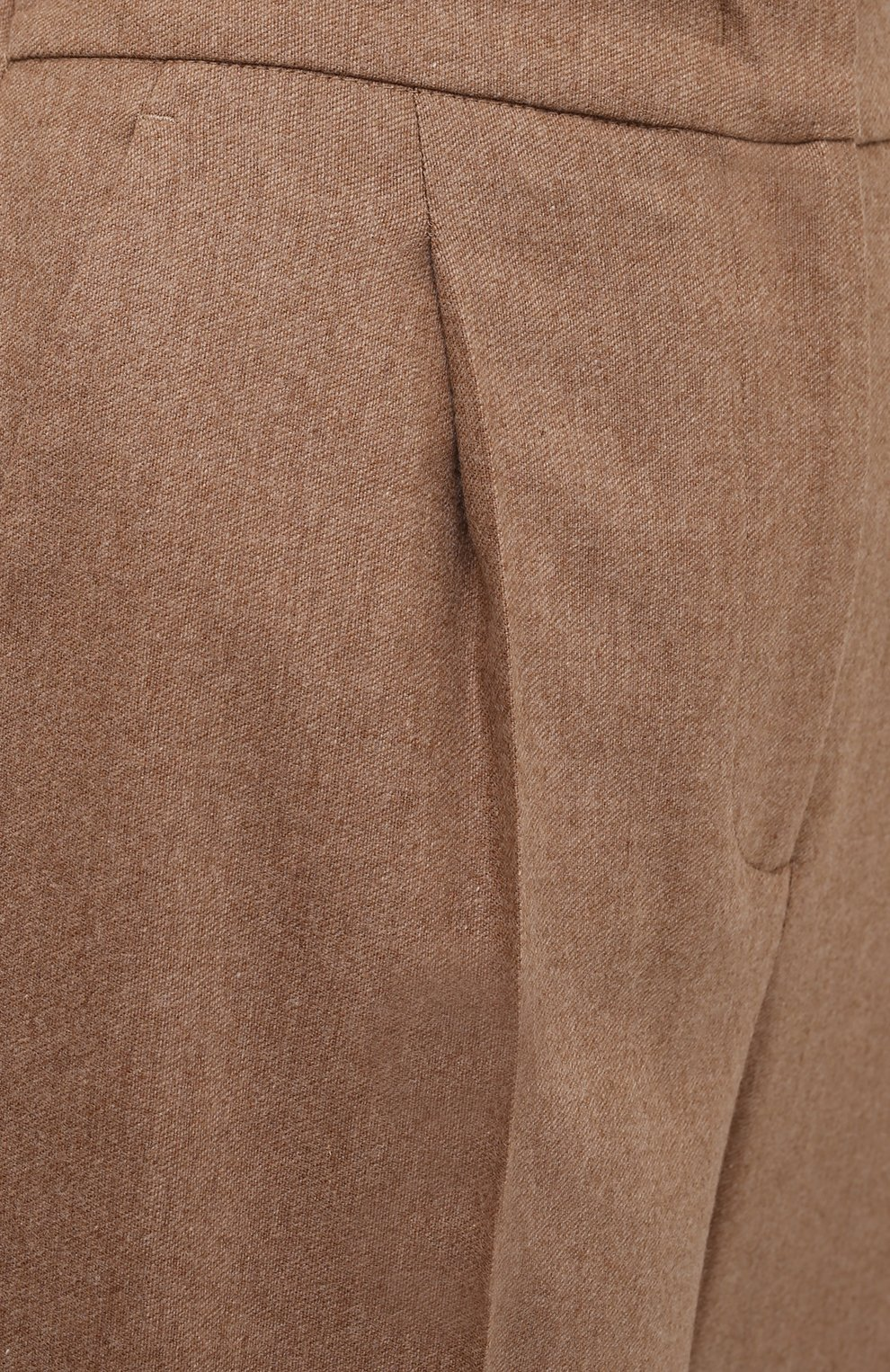 Женские шерстяные брюки LORENA ANTONIAZZI бежевого цвета, арт. A2139PA29A/3273 | Фото 5