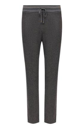 Женские шерстяные брюки LORENA ANTONIAZZI серого цвета, арт. A2139PA80A/3273 | Фото 1