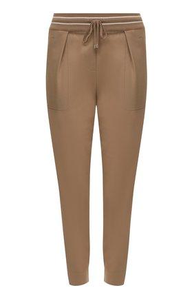 Женские шерстяные брюки LORENA ANTONIAZZI бежевого цвета, арт. A2142PA12A/3180 | Фото 1