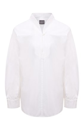 Женская хлопковая блузка LORENA ANTONIAZZI белого цвета, арт. A2149CA50A/3434 | Фото 1