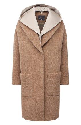 Женское шерстяное пальто LORENA ANTONIAZZI бежевого цвета, арт. A2105CP11B/3570 | Фото 1