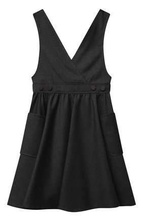 Детское сарафан ALETTA темно-серого цвета, арт. A210908-10N/4A-8A | Фото 1