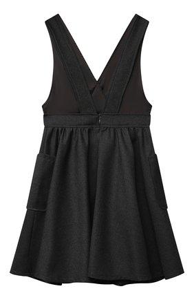 Детское сарафан ALETTA темно-серого цвета, арт. A210908-10N/4A-8A | Фото 2