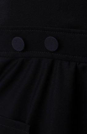 Детское сарафан ALETTA темно-синего цвета, арт. A210908-10N/9A-16A | Фото 3 (Случай: Повседневный; Девочки Кросс-КТ: Сарафан-одежда; Материал внешний: Синтетический материал; Материал подклада: Вискоза; Ростовка одежда: 10 - 11 лет | 140 - 146см, 12 лет | 152 см, 13 - 15 лет | 158 см, 16 лет | 164 см, 9 лет | 134 см)