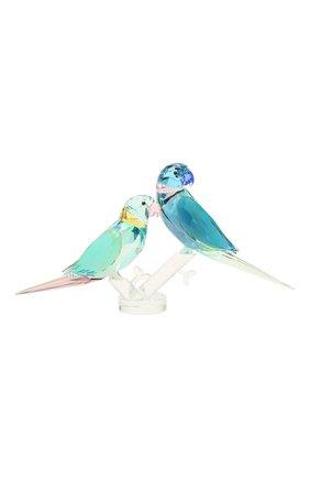 Скульптура parakeet couple SWAROVSKI разноцветного цвета, арт. 5577124 | Фото 1