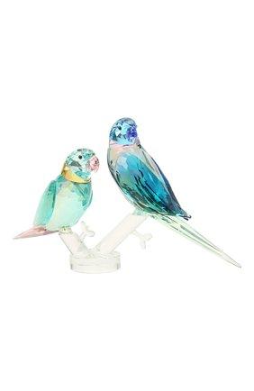 Скульптура parakeet couple SWAROVSKI разноцветного цвета, арт. 5577124 | Фото 2