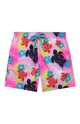 Детские плавки-шорты VILEBREQUIN разноцветного цвета, арт. JIMU1B88/175 | Фото 1