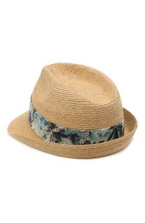 Детская соломенная шляпа BONPOINT светло-бежевого цвета, арт. S01BDIWO0301(006)_842824 | Фото 2