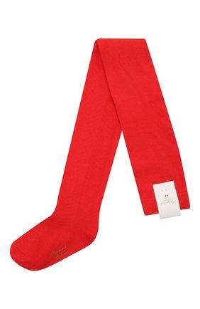 Детские хлопковые колготки BONPOINT красного цвета, арт. H18BFVDESSIN(051)_437067 | Фото 1