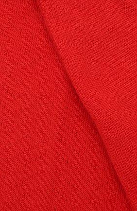 Детские хлопковые колготки BONPOINT красного цвета, арт. H18BFVDESSIN(051)_437067 | Фото 2