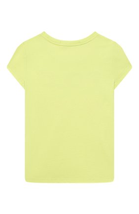 Детская хлопковая футболка POLO RALPH LAUREN светло-зеленого цвета, арт. 313837718 | Фото 2