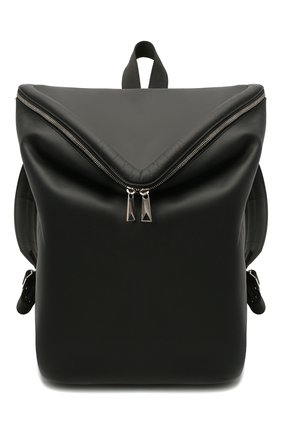Мужской кожаный рюкзак beak BOTTEGA VENETA черного цвета, арт. 658752/VA9VD | Фото 1