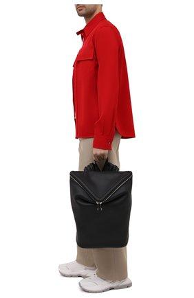 Мужской кожаный рюкзак beak BOTTEGA VENETA черного цвета, арт. 658752/VA9VD | Фото 2