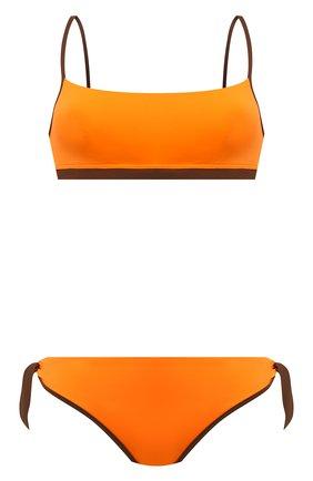 Женский раздельный купальник MAX MARA оранжевого цвета, арт. 1NARO 38313118-2GONDOL 38312218 | Фото 1