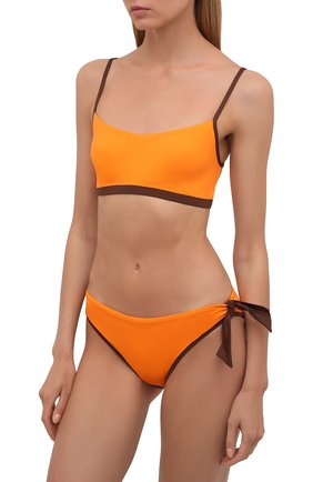 Женский раздельный купальник MAX MARA оранжевого цвета, арт. 1NARO 38313118-2GONDOL 38312218 | Фото 2