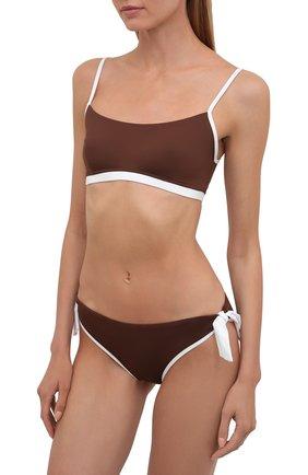 Женский раздельный купальник MAX MARA коричневого цвета, арт. 1NARO 38313118-2GONDOL 38312218 | Фото 2