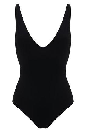 Женский слитный купальник TOTÊME черного цвета, арт. 212-883-795 | Фото 1