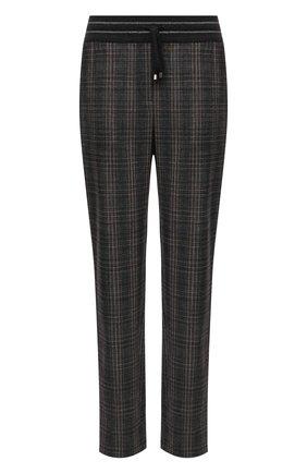 Женские шерстяные брюки LORENA ANTONIAZZI коричневого цвета, арт. A2137PA80A/3539 | Фото 1