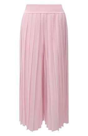 Женский кюлоты из вискозы BALMAIN светло-розового цвета, арт. WF1PQ020/K249 | Фото 1