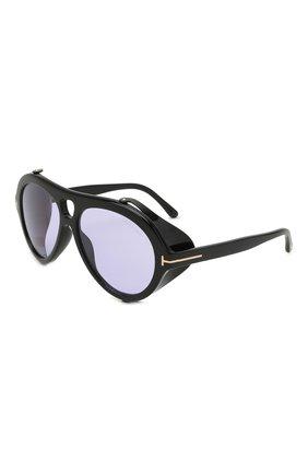 Женские солнцезащитные очки TOM FORD черного цвета, арт. TF882 | Фото 1