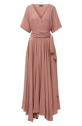 Женское платье из вискозы ERIKA PENA розового цвета, арт. FARRAHDRESS | Фото 1