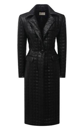 Женское пальто из экокожи GIUSEPPE DI MORABITO черного цвета, арт. PF21025C0-138TR | Фото 1