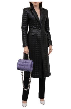 Женское пальто из экокожи GIUSEPPE DI MORABITO черного цвета, арт. PF21025C0-138TR | Фото 2