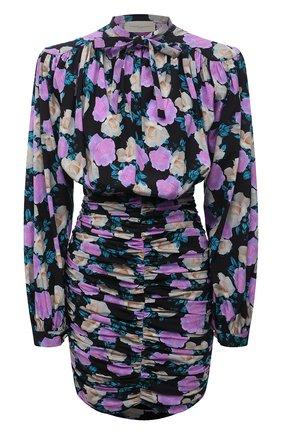Женское шелковое платье GIUSEPPE DI MORABITO разноцветного цвета, арт. PF21193DR-127 | Фото 1