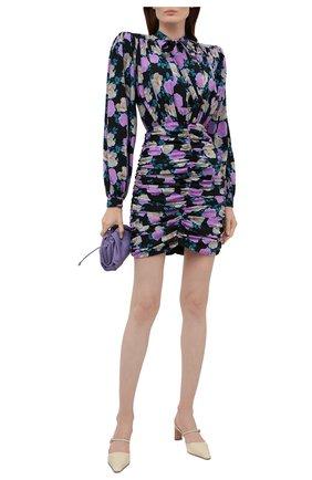 Женское шелковое платье GIUSEPPE DI MORABITO разноцветного цвета, арт. PF21193DR-127 | Фото 2
