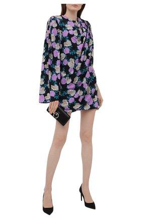 Женское шелковое платье GIUSEPPE DI MORABITO разноцветного цвета, арт. PF21192DR-127 | Фото 2