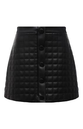 Женская юбка из экокожи GIUSEPPE DI MORABITO черного цвета, арт. PF21050SK-138TR | Фото 1
