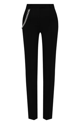 Женские шерстяные брюки GIUSEPPE DI MORABITO черного цвета, арт. PF21050PA-136C | Фото 1