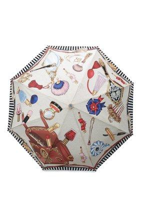 Женский складной зонт MOSCHINO кремвого цвета, арт. 7942-0PENCL0SE | Фото 1