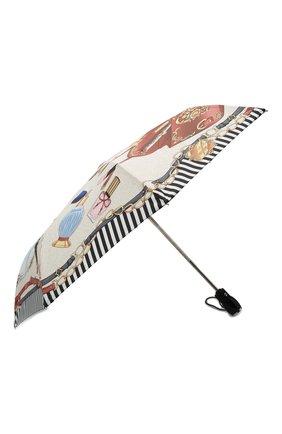 Женский складной зонт MOSCHINO кремвого цвета, арт. 7942-0PENCL0SE | Фото 2