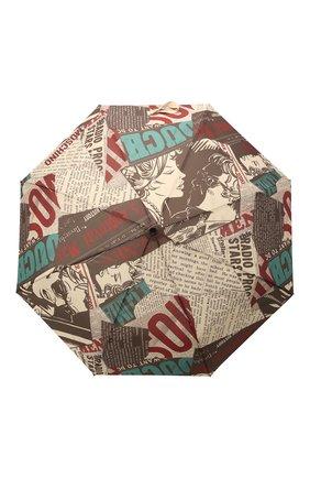 Женский складной зонт MOSCHINO черного цвета, арт. 8930-0PENCL0SE | Фото 1