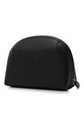 Женская кожаная косметичка COACH черного цвета, арт. C3489   Фото 2
