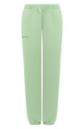 Женские хлопковые джоггеры PANGAIA зеленого цвета, арт. 21FPU01-132-FM002   Фото 1
