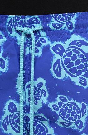 Мужские плавки-шорты VILEBREQUIN синего цвета, арт. MOOH1B03/314   Фото 5 (Материал внешний: Синтетический материал; Принт: С принтом; Мужское Кросс-КТ: плавки-шорты)
