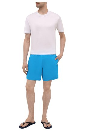 Мужские плавки-шорты VILEBREQUIN синего цвета, арт. MOOH1D09/398 | Фото 2